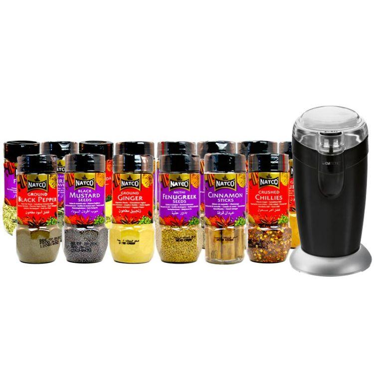Kit especias curry