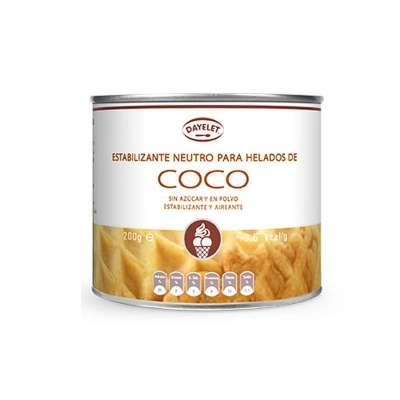 base para helado de coco