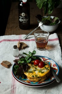 Del Blog Sweet and Sour: receta de Frittata
