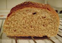 Pan con harina integral y centeno