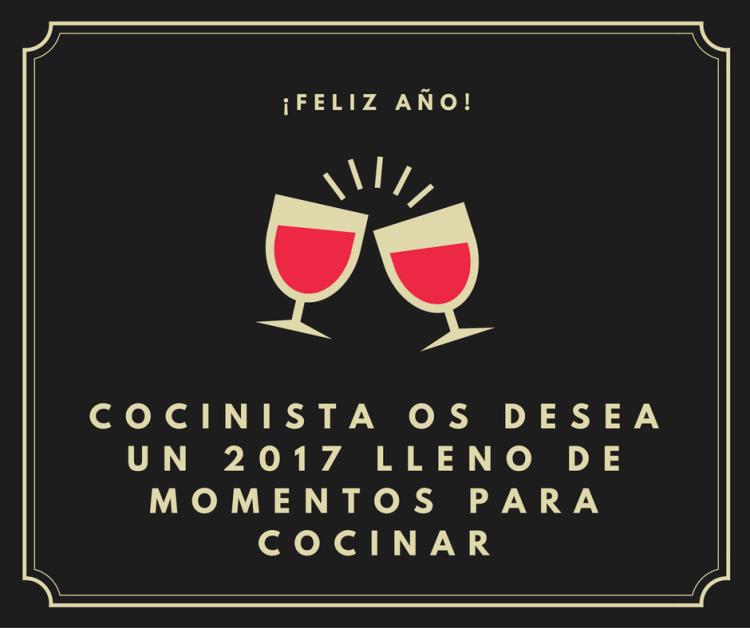 Feliz Año Cocinista 2017