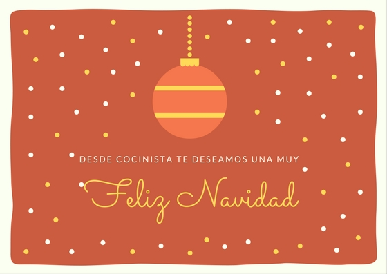Feliz Navidad desde Cocinista
