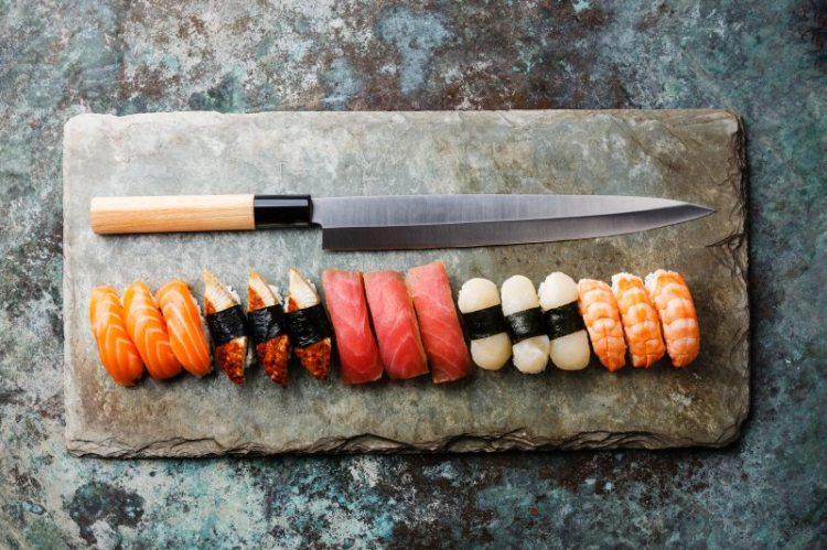 Cuchillo para sushi