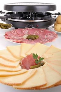 Raclette suiza