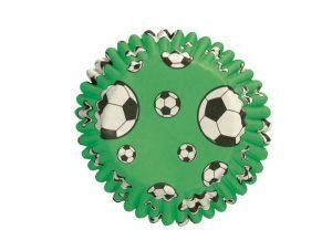 Cápsulas fútbol - 4,5 cm x 54 uds