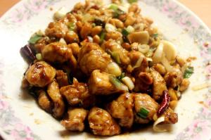 Pollo kung pao, China