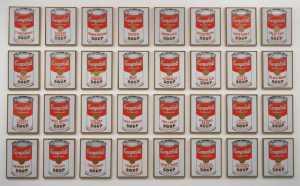 Latas de sopa Campbell's de 1962